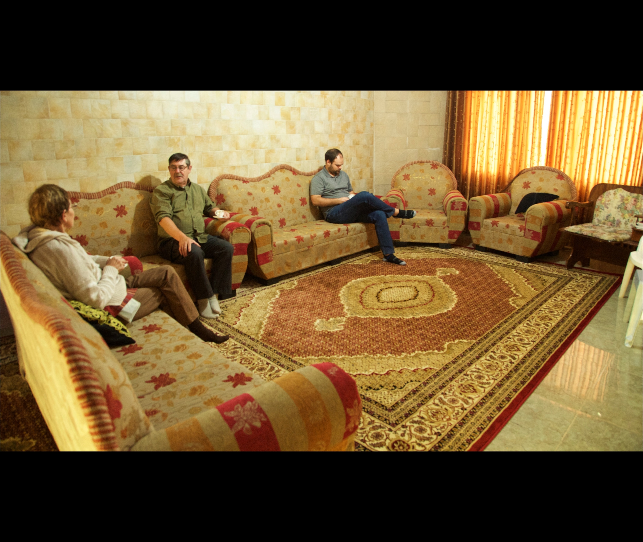 homestay with Remah Abbas and her husband Ahmid. Burkin, Palestine. 56667