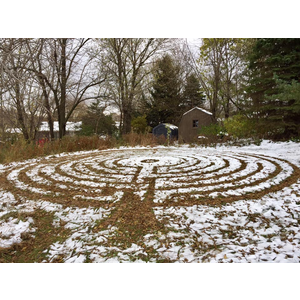 labyrinth snow