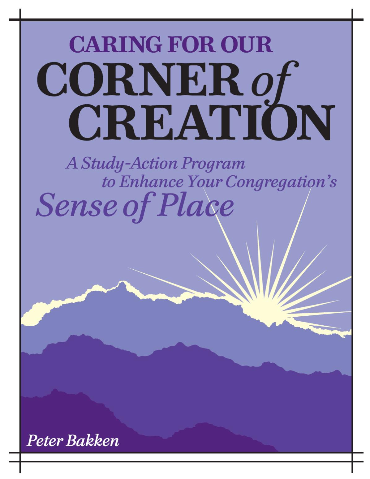 Caring for Our Corner of Creation